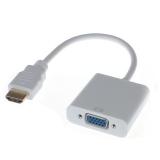 Конвертер сигнала из HDMI(male) в VGA(female) + miniJack 3.5мм