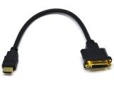 Переходник HDMI(male) - DVI-I(female) 24+5pin