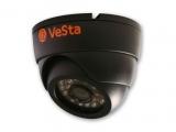 Камера видеонаблюдения купольная цветная VC-200S IR
