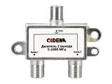 Делитель видеосигнала на 2 выхода 5-2400 МГц Cadena
